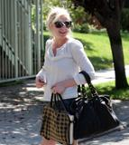Kirsten Dunst Candids in Hollywood September 28th 2008